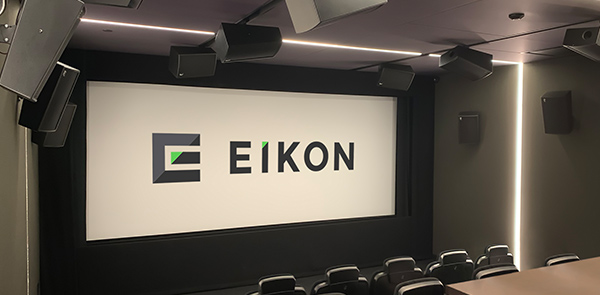 Eikon Group Relies on Alcons For Critical Screening Rooms