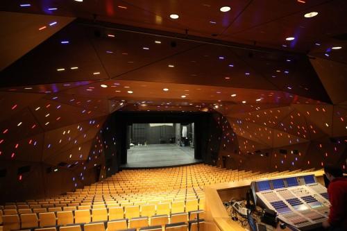 Staatstheater Stuttgart interior stage