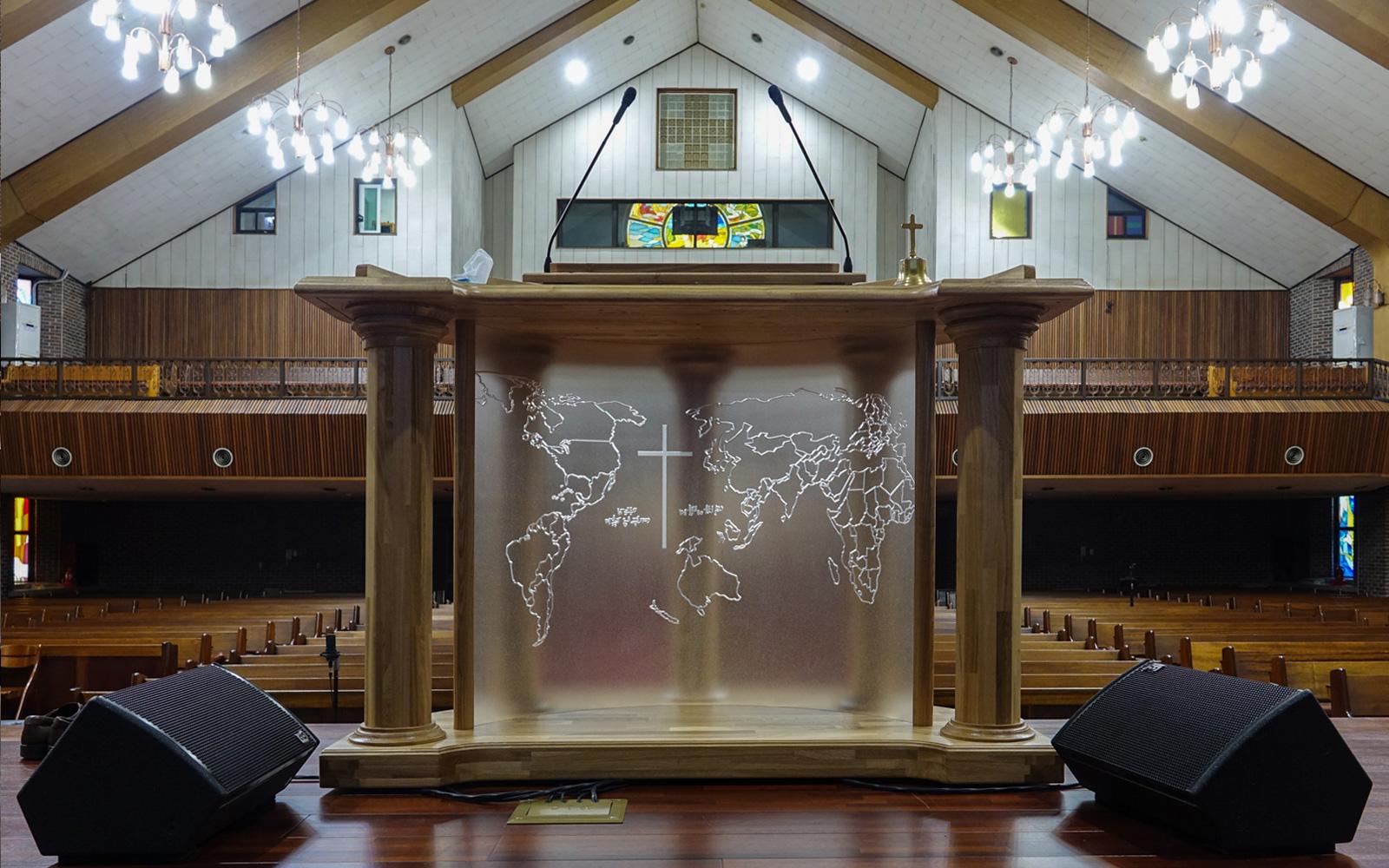Seoul Church Chooses Alcons Pro Ribbon